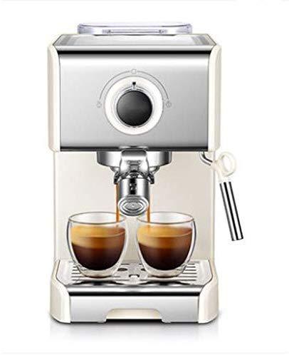 COOLSHOPY Máquina de café, la Bomba y 20 Bares máquina de Espresso Semi-automática Espresso Cafetera Inicio Cafetera…
