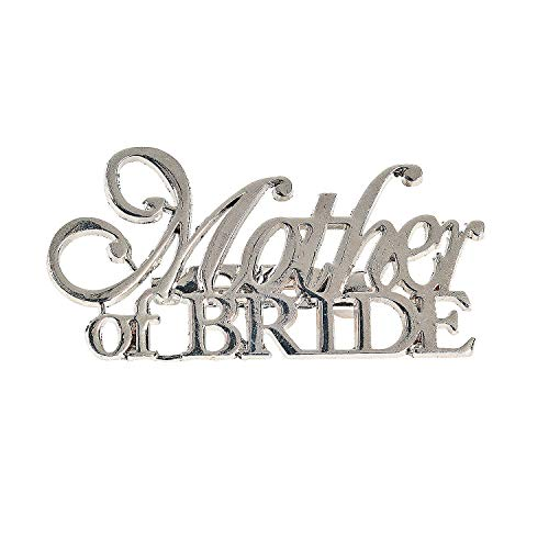 Fun Express Mother of Bride Pin]()