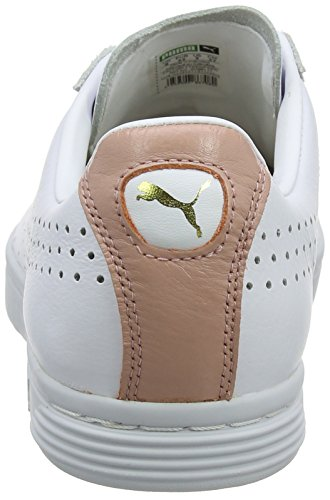 peach Nm gold Basses White Beige Mixte puma Court Sneakers Puma Adulte Blanc Star qxAvv4