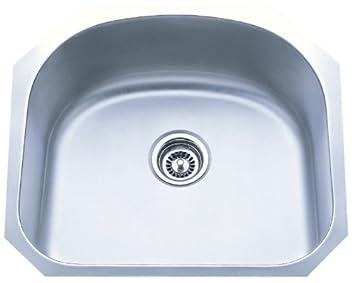 Dowell Undermount Single Bowl 18 Gauge Kitchen Stainless Steel Sinks (6001  2320)