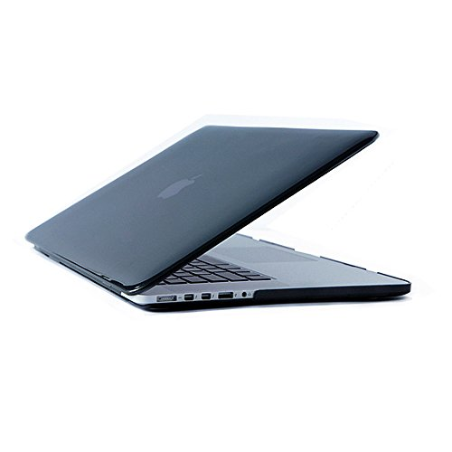 Price comparison product image SODIAL Crystal Hard Case For Apple Macbook Laptop Cover- Pro 13 A1706@A1708 inch Black