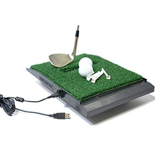 OPTISHOT 2 Golf Simulator (Mac & PC) Bundle | Includes 1 Extra Replacement Mat and 1 American Eagle Golf Ball Marker by optishot (Image #2)