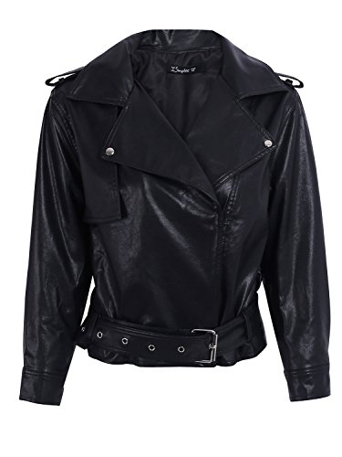 Oversized Motorcycle Jacket - 3