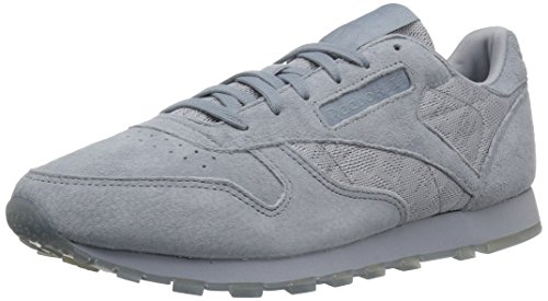 White Leather Meteor Fashion Reebok Sneakers Lace Classic Women's Grey pxqpCw7Un