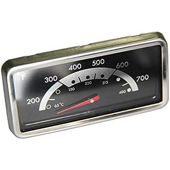 Amazon.com: Tapa termómetro parrilla de gas indicador de ...