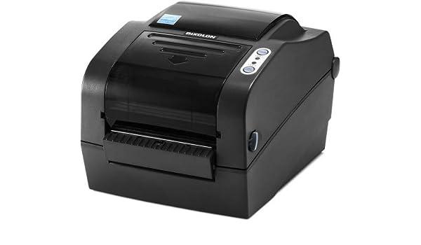 Bixolon Impresora Etiquetas SLP-TX420G USB-Serie-PAR: Amazon.es ...