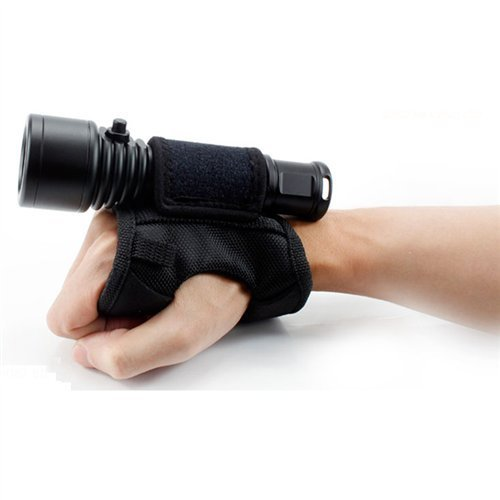 Blue Reef Orca Torch Nylon Wrist Strap for D500 and D500V Lights - Nylon Drysuit