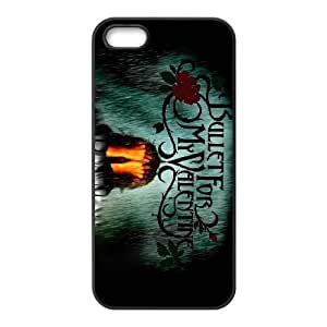 Bullet For My Valentine funda iPhone 4 4s funda L1M81X4BK caso de la cubierta K26774 negro