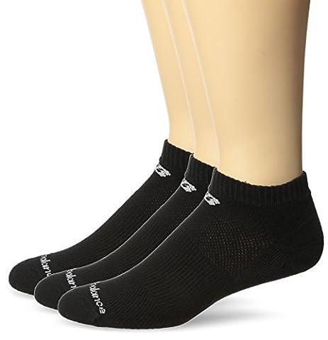 New Balance Unisex 3 Pack Low Cut Core Cotton Socks