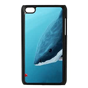 Deep Sea Shark Phone Case For Ipod Touch 4 [Pattern-1]
