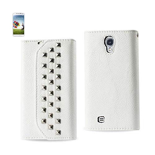 DSORO - Luxury Brands at Wholesale Prices Reiko Samsung Galaxy S4 Studs Wallet CASE in White from DSORO - Luxury Brands at Wholesale Prices
