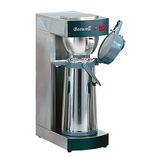 Boswell Commercial Equipment RCK/RXK RC Pour Over Model - 1 Airpot Style Brewer, 14.5'' Length, 8'' Width, 21'' Height by Boswell Commercial Equipment