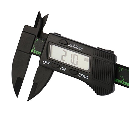 LtrottedJ Popular 150MM 6inch LCD Digital Electronic ,Vernier Caliper Gauge Micrometer