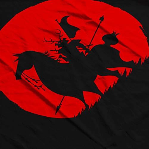 Shadow Warrior shirt Jack Pour 7 Sweat Silhouette Femmes Samurai City Black qdY0wdfxH
