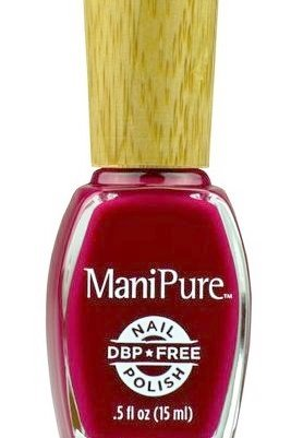 Manipure Berry Couture Non Toxic Vegan Pregnancy Safe Nail Polish Big 3 Free