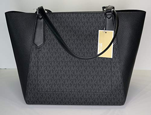 4d5c6b050669 MICHAEL Michael Kors Kimberly Large Bonded Tote bundled with Michael Kors  Jet Set Travel Slim Bifold