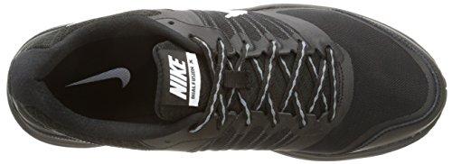 Nike Downshifter 6 - Zapatillas unisex Negro / Blanco / Gris (Black / White-Cool Grey)