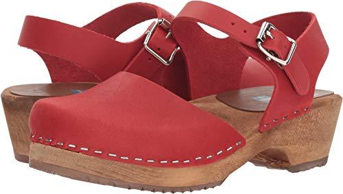 MIA Womens Sofia Red Clog - 10