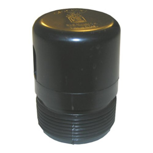 LASCO 05-2099 ABS Plastic Plumbing Vent with 1 1/2-Inch Male Pipe Thread
