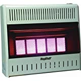 World Marketing/Kozy World Model # KWN321 Wall Heater - Natural Gas/Infrared Vent Free ~ 30,000 BTU's