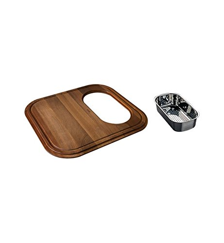 (Franke GN18-45SP EuroPro Cutting Board with Colander)
