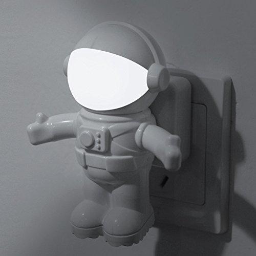 Vktech Astronaut Led Night Light Sound Light Control Lamp