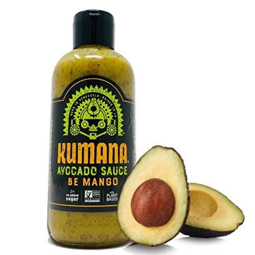 (Kumana Avocado Sauce - Spicy Mango. A Flavor Forward Sauce with Ripe Avocados, Mango & Chili Peppers. Keto & Paleo. No Sugar Added. 13.1 Ounces.)