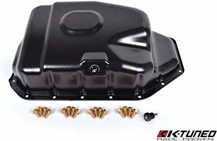 Amazon com: K-TUNED K-SERIES OIL PAN W/ MAGNETIC PLUG AND