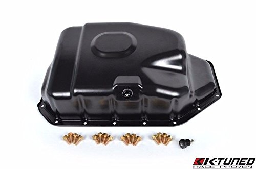 (K-TUNED K-SERIES OIL PAN W/ MAGNETIC PLUG AND BOLTS K-SWAP ACURA INTEGRA DC2 K20)