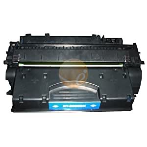 Remanufactured Replacement Laser Toner Cartridge for Hewlett Packard (HP) CE505X (05X) High Yield Black