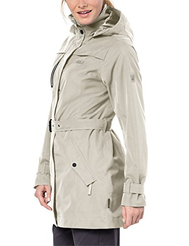 sable Trench Wolfskin Coat blanc Jack Manteau FxRIEwqIP