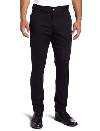 Dickies WP801 Skinny Straight Fit Flat Front Pant Black 26W x 32L