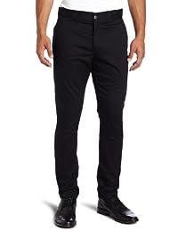 Dickies Mens Skinny Fit Work Straight Leg Pants Black 29/32
