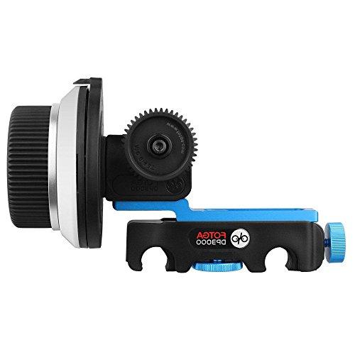 41jrC65IoML - Fotga DP3000 M3 Matte Box for Follow Focus 15mm Rail Rod Rig Nikon Canon Sony Dslr Cameras