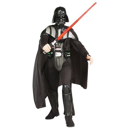 Deluxe Darth Vader Adult Costume - (Adult Deluxe Darth Vader Costume)