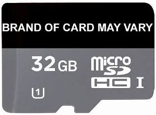 Brand of card may vary 32GB Micro SD Memory Card Class 10