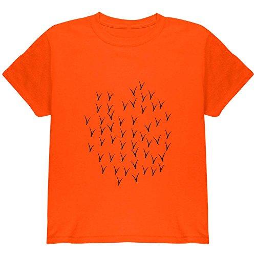 Halloween Oriole Bird Costume Youth T Shirt Orange YXL