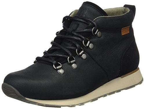 El Naturalista Nd62 Pleasant-Lux Suede Walky, Stivaletti Donna Nero (Black / Black)