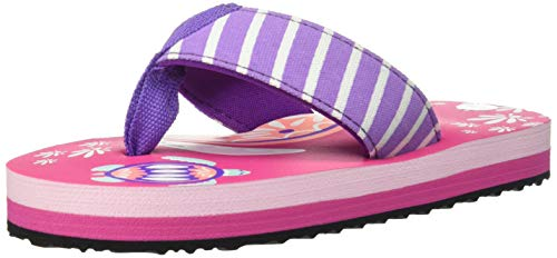 - Hatley Girls' Little Flip Flops, Pretty Sea Turtleswb-Bk-RNUM-Wntrnum, Large (11 US Kids Shoe Size)