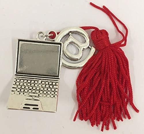 Ciondolo LAUREA computer laureato INFORMATICA bomboniera