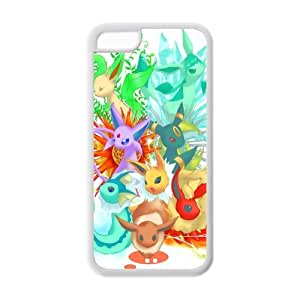 Pikachu Solid Rubber Customized Cover Case for iPhone 5c 5c-linda677