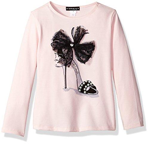 Kate Mack Little Girls' Rumba Roses Tee, Pink, 5 - Kate Mack Girls Clothing