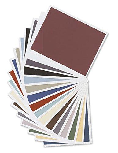 Colourfix Fine Tooth Pastel Paper Rainbow Colors 20-Pack 9.5x12.5 by Art Spectrum