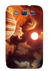 Catenaryoi Tpu Case For Galaxy S3 With Hot Jupiter , Nice Case For Thanksgiving Day's Gift