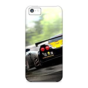 Real Racing 2 For Iphone 4/4s PC mobile phone Awesome Phone Cases covers Runing's case