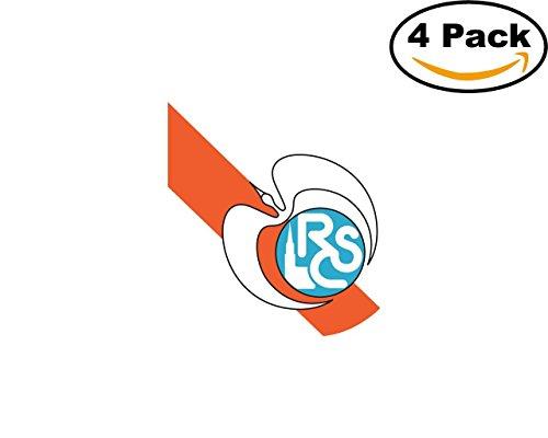 fan products of RC Strasbourg France Football Club Soccer FC 4 Sticker Decal 4X4