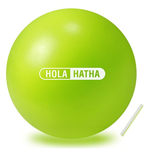- Mini Exercise Ball for Yoga, Pilates, Barre, Fitness-Stability Ball Accessories for strengthening core Exercise (Lime, 10- inch)