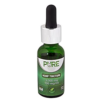 Amazon com: 3000mg Hemp Oil Tincture 100mg/ml with Organic
