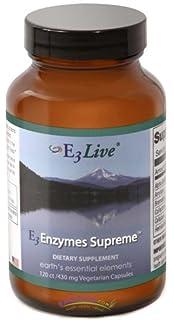 Amazon.com: e3live – E3 enzimas Supreme – 240 Cápsulas ...
