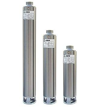 Bomba sumergible de pozo DS4 02; 5 etapas 0,37kw: Amazon.es ...
